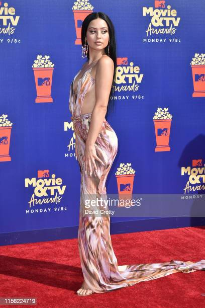 Alexa Demie attends the 2019 MTV Movie TV Awards at Barker Hangar on June 15 2019 in Santa Monica California