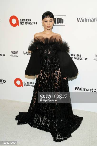 Alexa Demie attends the 28th Annual Elton John AIDS Foundation Academy Awards Viewing Party Sponsored By IMDb, Neuro Drinks And Walmart on February...