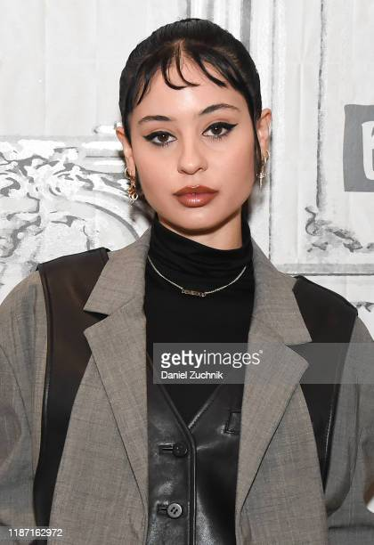 Alexa Demie attends the Build Series to discuss the new film Waves at Build Studio on November 12 2019 in New York City