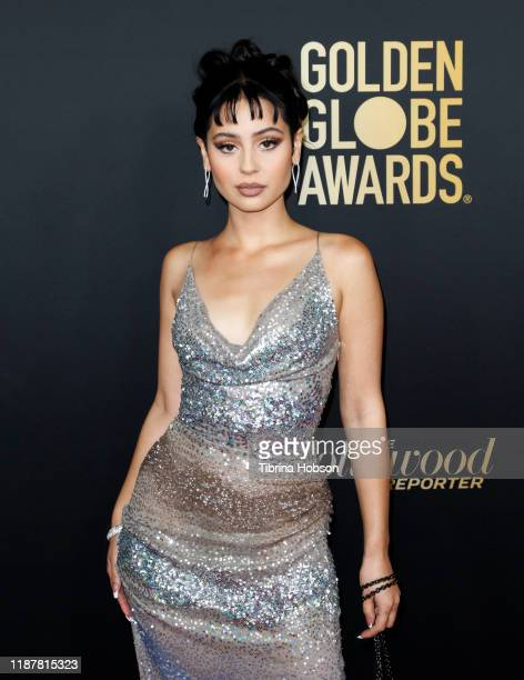 Alexa Demie attends the HFPA and THR Golden Globe Ambassador Party at Catch LA on November 14 2019 in West Hollywood California