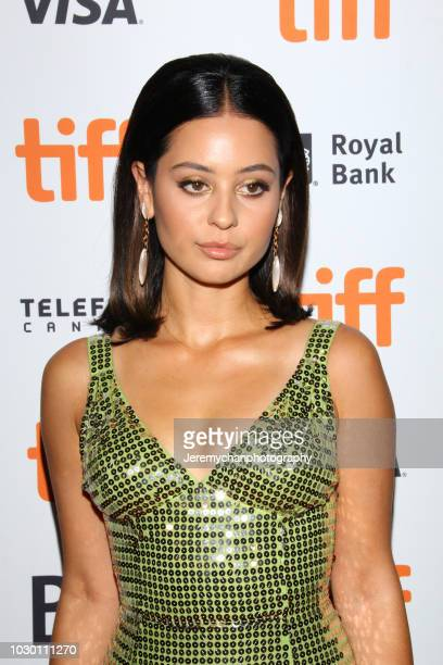 Alexa Demie attends the 'Mid90s' Premiere during 2018 Toronto International Film Festival at Ryerson Theatre on September 9 2018 in Toronto Canada