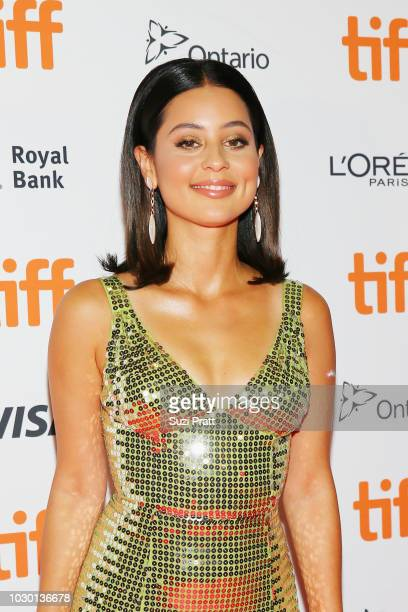 Alexa Demie attends the Mid90s premiere during 2018 Toronto International Film Festival at Ryerson Theatre on September 9 2018 in Toronto Canada
