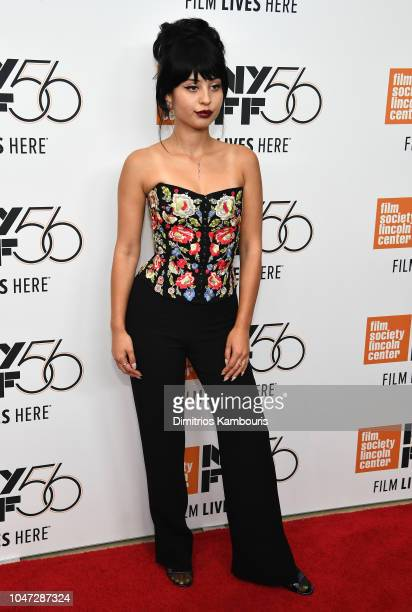 Alexa Demie attends the Mid90s screening during the 56th New York Film Festival at Elinor Bunin Munroe Film Center on October 7 2018 in New York City