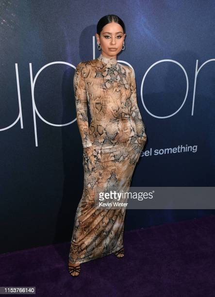 Alexa Demie attends the LA Premiere of HBO's Euphoria at The Cinerama Dome on June 04 2019 in Los Angeles California