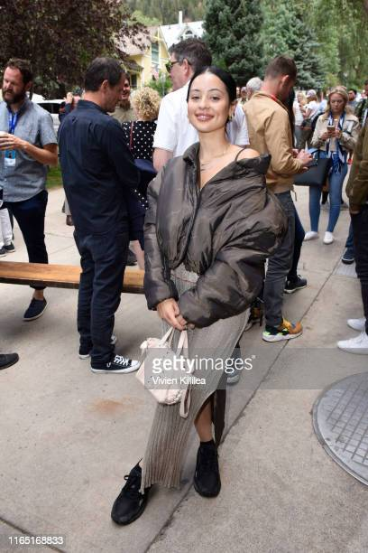 Alexa Demie attends the Telluride Film Festival 2019 on August 31 2019 in Telluride Colorado