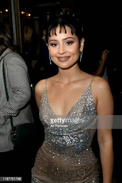 Alexa Demie joins Moet Chandon at the HFPA and The Hollywood Reporter's Celebration of the 2020 Golden Globe Ambassadors at Catch on November 14 2019...