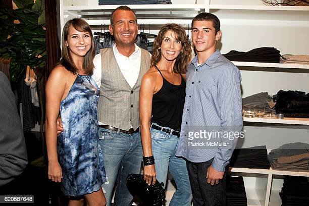 Alexa Egeck Mike Egeck Kelly Egeck and Marcus Egeck attend 7 FOR ALL MANKIND New York Flagship Boutique Opening with VOGUE and Photo Exhibition by...