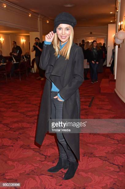 Alexa Feser attends the premiere 'Der Entertainer' on March 10, 2018 in Berlin, Germany.