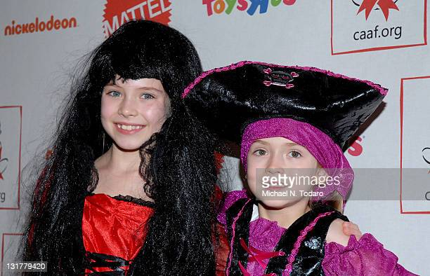Alexa Gerasimovich and Ashley Gerasimovich attend 2010 Dream Halloween at Capitale on October 24 2010 in New York City