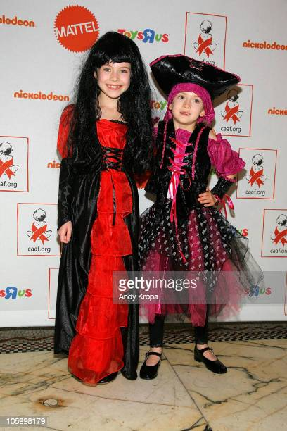 Alexa Gerasimovich and Ashley Gerasimovich attend The 9th Annual Dream Halloween at Capitale on October 24 2010 in New York City