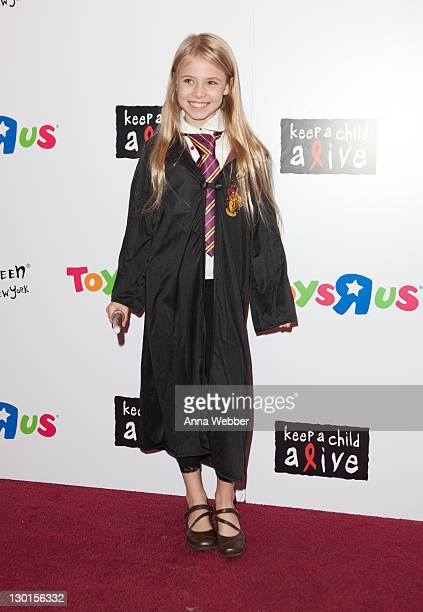 Alexa Gerasimovich attends the 10th Annual Dream Halloween New York event at the Hard Rock Cafe Times Square on October 23 2011 in New York City