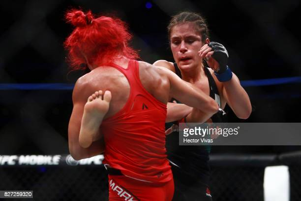 Alexa Grasso fights Randa Markos during the UFC Fight Night Mexico City at Arena Ciudad de Mexico on August 05 2017 in Mexico City Mexico