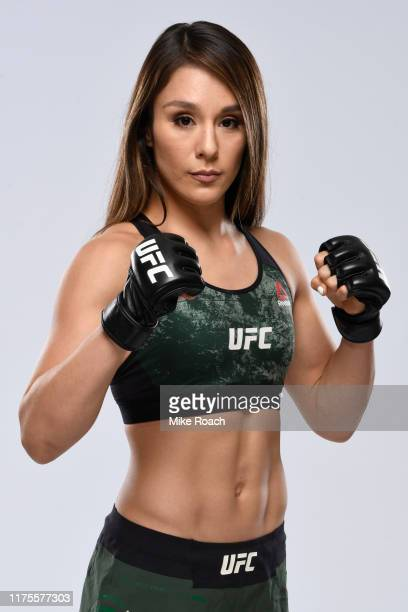Alexa Grasso of Mexico poses for a portrait during a UFC photo session on September 18 2019 in Mexico City Mexico