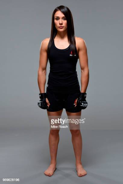 Alexa Grasso of Mexico poses for a portrait during a UFC photo session on May 16 2018 in Santiago Chile