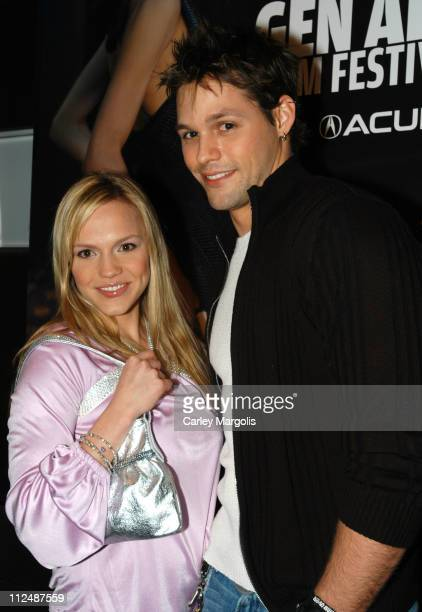 Alexa Havins and Justin Bruening of 'All My Children'