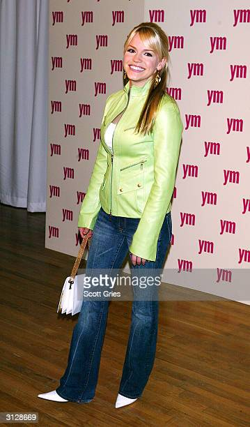 Alexa Havins arrives at the 5th Annual YM MTV Issue party at Spirit March 24 2004 in New York City