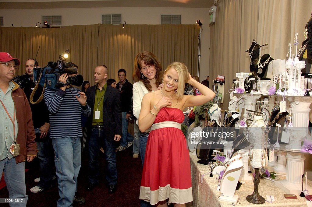Alexa Havins during 33rd Annual Daytime Emmy Awards - Gift Suite - Day 1 in Los Angeles, California, United States.