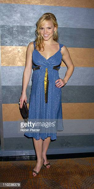 Alexa Havins during All My Childrens 35th Anniversary Celebration benefitting Broadway Cares Equity Fights Aids at The Rainbow Room in New York City...