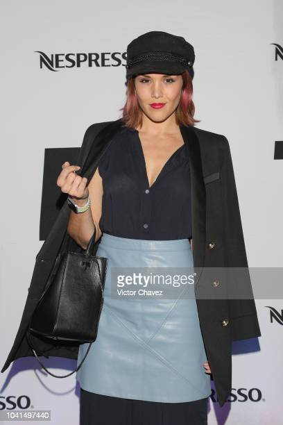 Alexa Ivan attends the Nespresso Vertuo launch on September 26 2018 at Piacere in Mexico City Mexico
