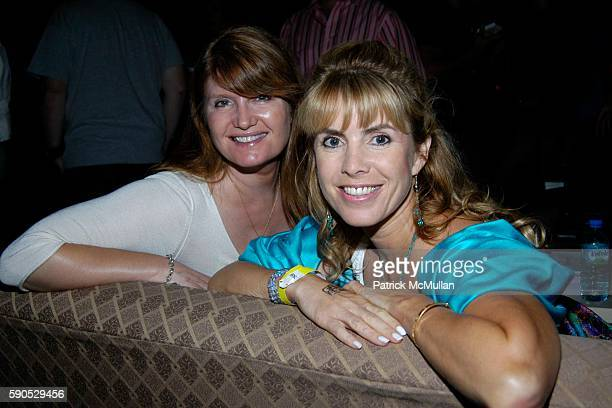 Alexa Jago and Julia Verdin attend Gen Art and Beck's Present 'Ignite Monte Carlo Carnivale 2005' at Henry Fonda Theater on August 17 2005 in...