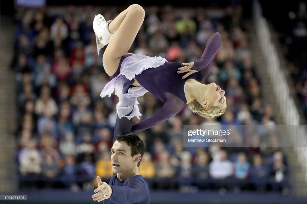 2020 U.S. Figure Skating Championships - Day 6 : Fotografía de noticias