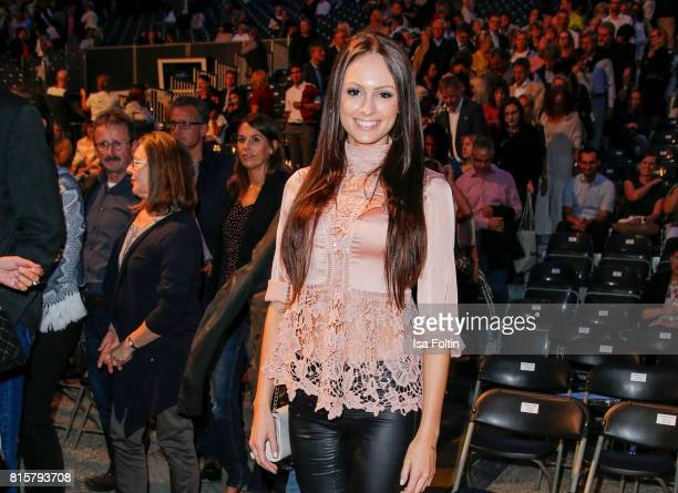 Alexa Kolbinger during the Ronan Keating concert at the Thurn Taxis Castle Festival 2017 on July 16 2017 in Regensburg Germany
