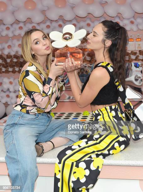 Alexa Losey and Devon Lee Carlson attend the Marc Jacobs Fragrances Celebrates the Launch of DAISY LOVE on May 9 2018 in Los Angeles California