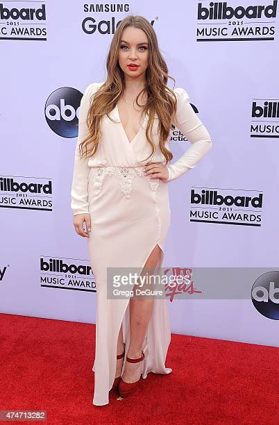Alexa Losey arrives at the 2015 Billboard Music Awards at MGM Garden Arena on May 17 2015 in Las Vegas Nevada