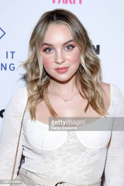 Alexa Losey attends NYLON's annual It Girl Party sponsored by Call It Spring at Ace Hotel on October 11 2018 in Los Angeles California