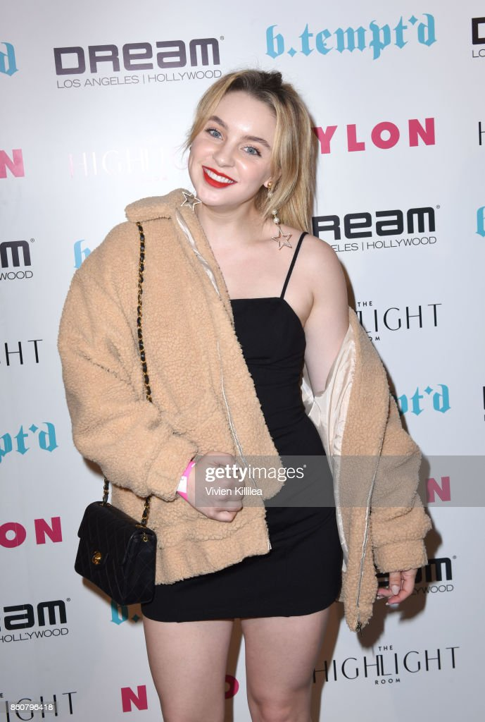 Alexa Losey attends NYLON's It Girl Party At The Highlight Room At Dream Hollywood on October 12, 2017 in Hollywood, California.