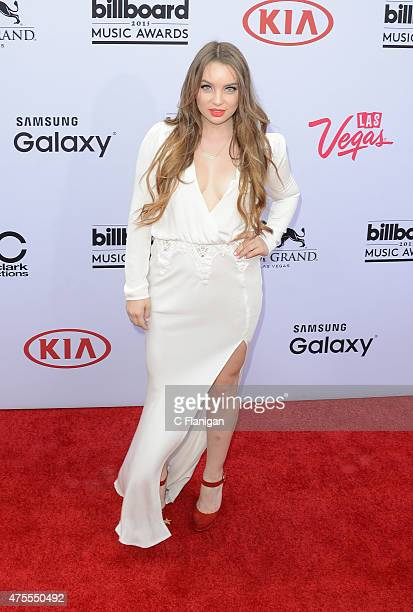 Alexa Losey attends the 2015 Billboard Music Awards at MGM Grand Garden Arena on May 17 2015 in Las Vegas Nevada