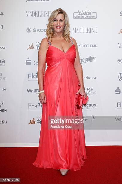 Alexa Maria Surholt attends Madeleine at Goldene Henne 2014 on October 10 2014 in Leipzig Germany