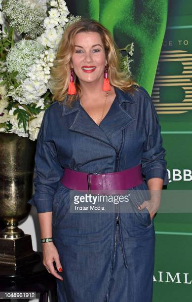 Alexa Maria Surholt attends the charity event PLACE TO B Playing for Charity at Restaurant GRACE on October 4 2018 in Berlin Germany