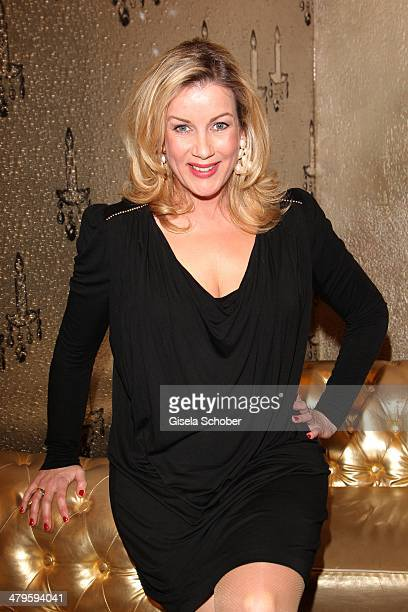 Alexa Maria Surholt attends the NDF After Work Presse Cocktail at Parkcafe on March 19 2014 in Munich Germany