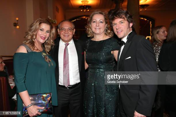 Alexa Maria Surholt Felix Magath and his wife Nicole Magath Steffen Schroeder during the after show party for the Ein Herz Fuer Kinder Gala at...