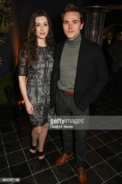 Alexa Morden and Will Finlason attend the dunhill and Dylan Jones preBAFTA dinner and cocktail reception celebrating Gentlemen in Film at Bourdon...