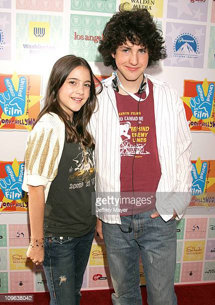 Alexa Nikolas and Sean Flynn during Giffoni Hollywood Film Festival Debuts with Premiere of Duma Arrivals at Cinerama Dome at ArcLight Theatres in...