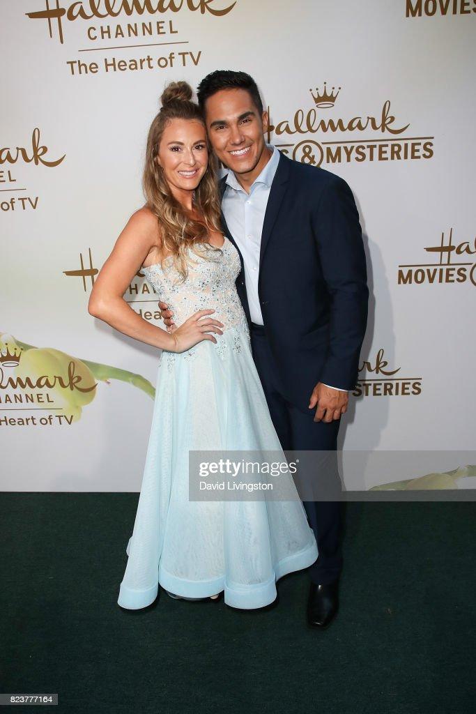 2017 Summer TCA Tour - Hallmark Channel And Hallmark Movies And Mysteries - Arrivals : News Photo