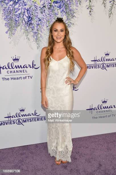 Alexa PenaVega attends the 2018 Hallmark Channel Summer TCA at Private Residence on July 26 2018 in Beverly Hills California