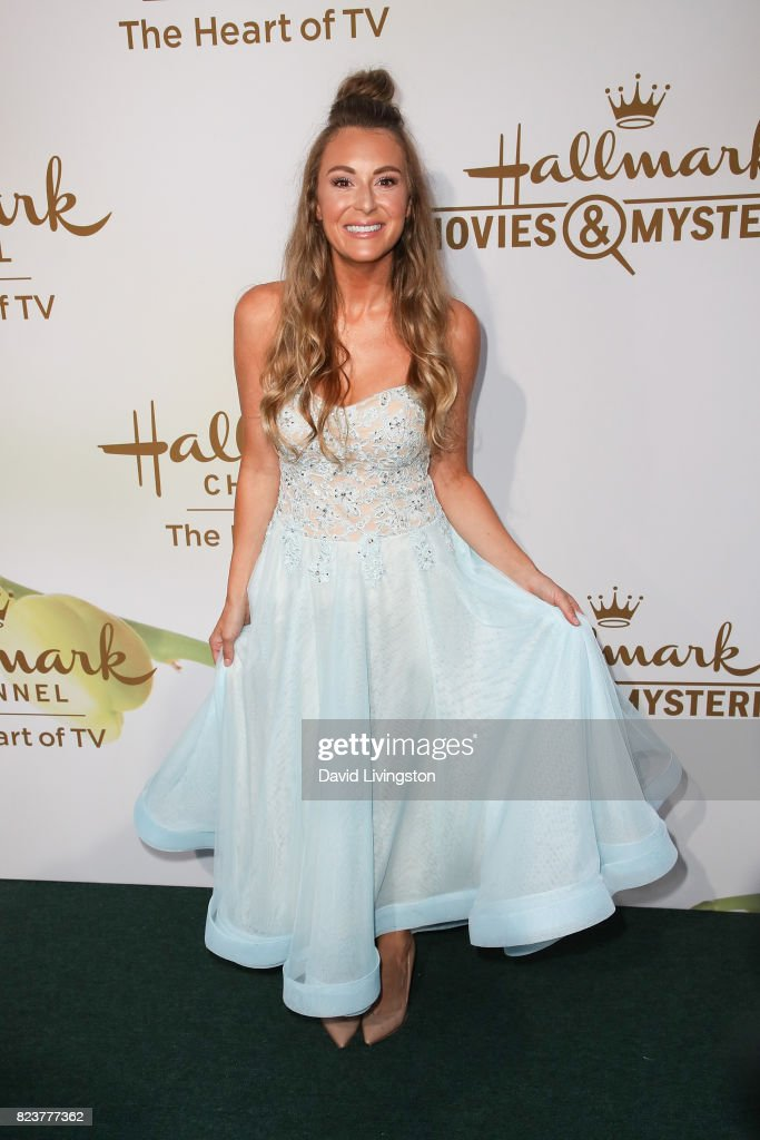 Alexa PenaVega attends the Hallmark Channel and Hallmark Movies and Mysteries 2017 Summer TCA Tour on July 27, 2017 in Beverly Hills, California.