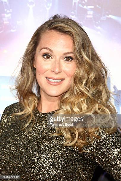 Alexa PenaVega attends the premiere of Pure Flix Entertainment's Hillsong Let Hope Rise held at Mann Village Theatre on September 13 2016 in Westwood...