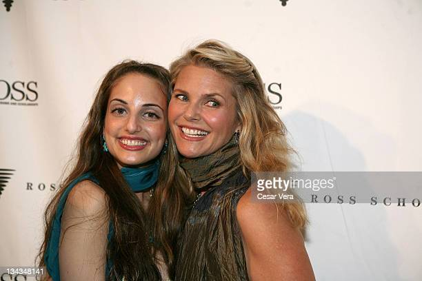 Alexa Ray Joel and Christie Brinkley attends the Ross School's 6th Annual Club Starlight Benefit at the Ross School Center For WellBeing on June 20...