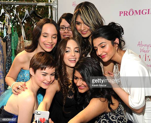 75e8121e0c0 Alexa Ray Joel and guests Partner With PromGirl to Launch  PromGirlUp Selfie  Campaign at Gramercy