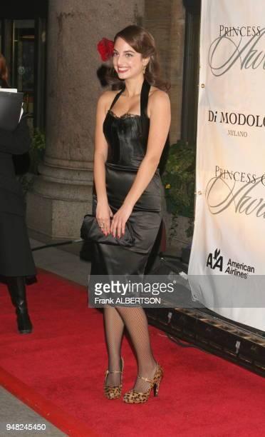 Alexa Ray Joel at the 2006 Princess Grace Foundation USA Awards Gala At Cipriani 42nd Street New York City on Nov 2 2006 full length smile Frank...