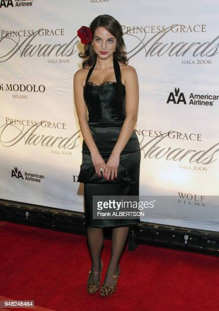 Alexa Ray Joel at the 2006 Princess Grace Foundation USA Awards Gala At Cipriani 42nd Street New York City on Nov 2 2006 full length smile Frank...