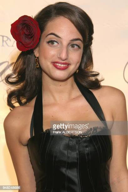 Alexa Ray Joel at the 2006 Princess Grace Foundation USA Awards Gala At Cipriani 42nd Street New York City on Nov 2 2006 half length smile Frank...