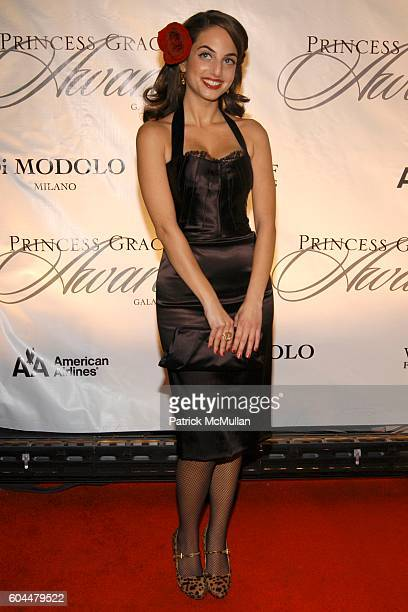 Alexa Ray Joel attends The 2006 Princess Grace Awards Gala at Cipriani 42nd Street on November 2 2006 in New York City