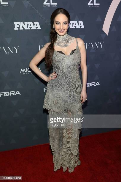 Alexa Ray Joel attends the 2018 Footwear News Achievement Awards at IAC Headquarters on December 4 2018 in New York City