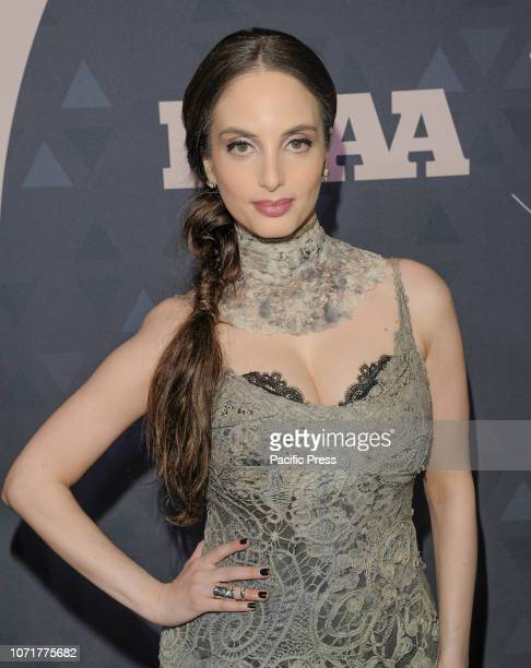 Alexa Ray Joel attends the 32nd Footwear News Achievement Awards at IAC Headquarters