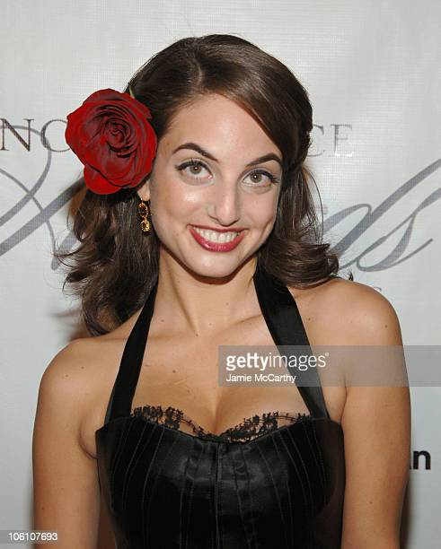 Alexa Ray Joel during The 2006 Princess Grace Awards Gala at Cipriani 42nd Street in New York City New York United States